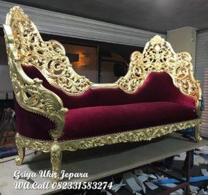 Sofa Santai Ukir Kode KU-010