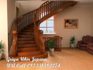 Tangga Kayu Jati Furniture Jepara TK-019