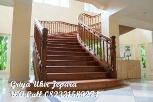 Tangga Kayu Jati Furniture Jepara TK-024