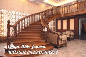 Tangga Kayu Jati Furniture Jepara TK-007