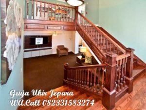 Tangga Kayu Jati Furniture Jepara TK-012