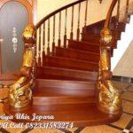 tangga kayu mewah
