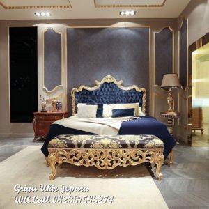 Tempat Tidur Mewah Jati Trenggono