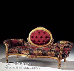 Sofa Santai Warna Emas KU-009