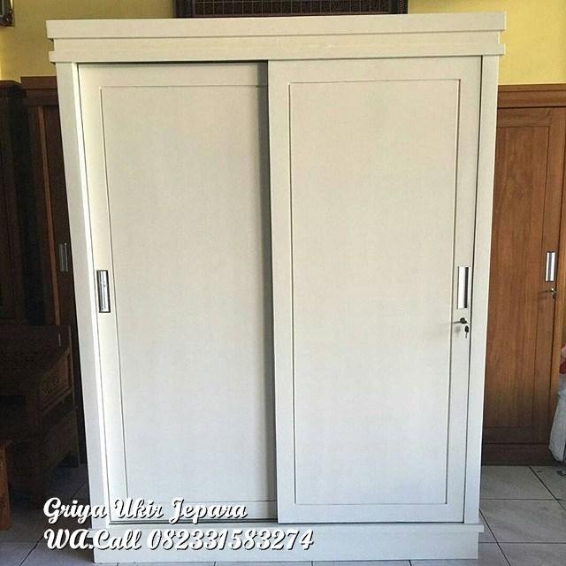 Lemari Pintu Slidding 2 pintu