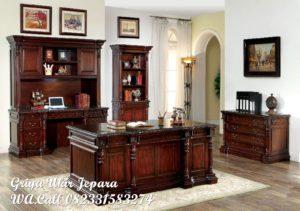 Meja Kerja dan Lemari Buku LB-015