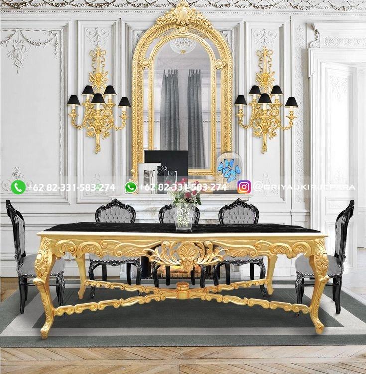 meja makan jati mewah 2 - 10+Model Meja Makan Jati Mewah Murah