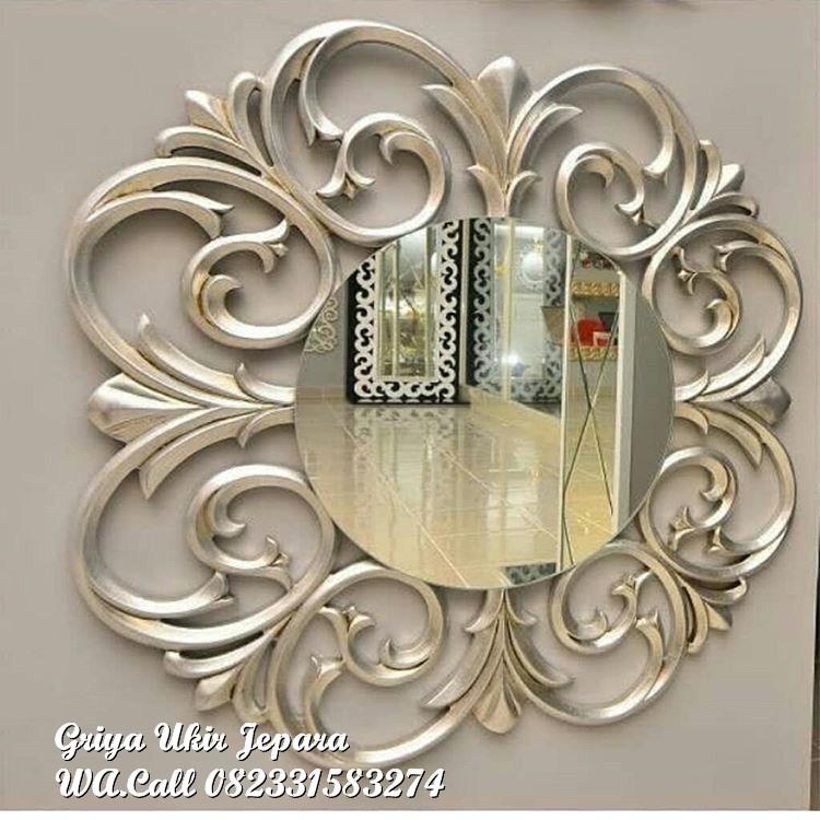 pigura cermin 12 - Pigura Cermin Bundar Murah PC-023
