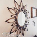pigura cermin matahari