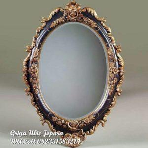 Pigura Cermin Klasik Oval PC-027