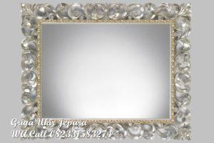 Pigura Cermin Ukir Kotak PC-035
