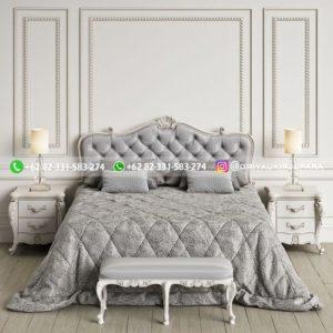 Kamar Set Tempat Tidur Jati Mewah Klasik Terbaru