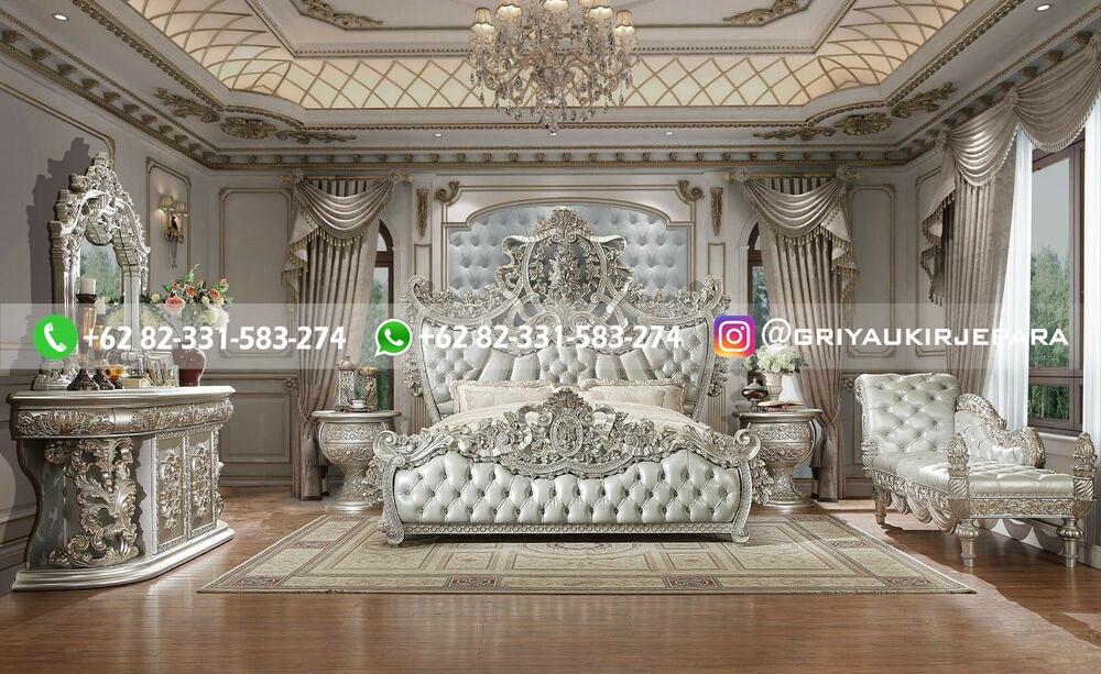Tempat Tidur Jati Mewah Minimalis Klasik dan Ukiran Jepara 14 - 10+ Model Tempat Tidur Jati Mewah