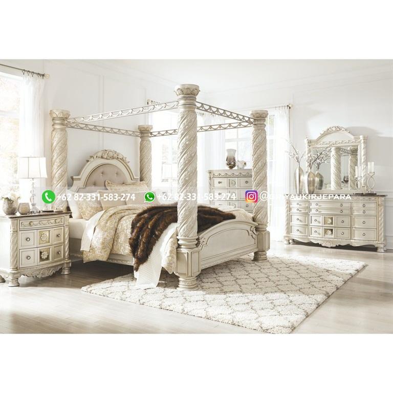 Tempat Tidur Jati Mewah Minimalis Klasik dan Ukiran Jepara 20 - 10+ Model Tempat Tidur Jati Mewah