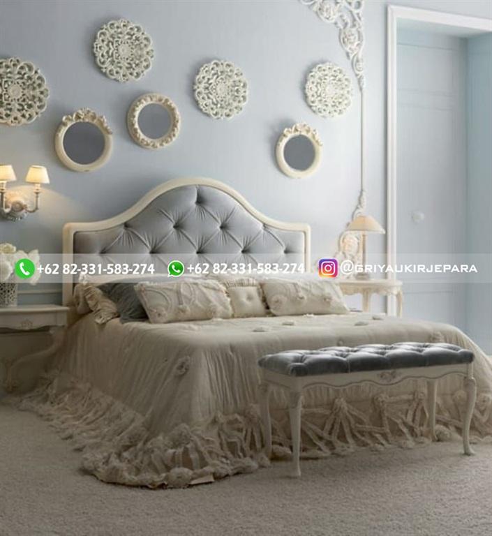 Tempat Tidur Jati Mewah Minimalis Klasik dan Ukiran Jepara 25 - 10+ Model Tempat Tidur Jati Mewah