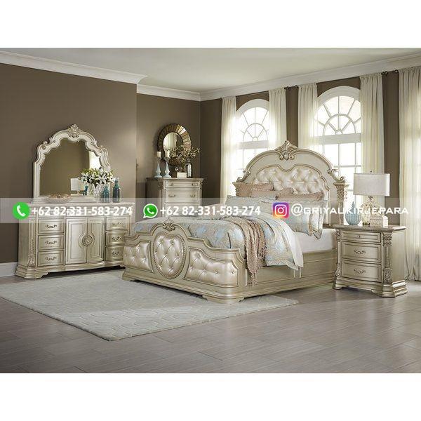 Tempat Tidur Jati Mewah Minimalis Klasik dan Ukiran Jepara 26 - 10+ Model Tempat Tidur Jati Mewah
