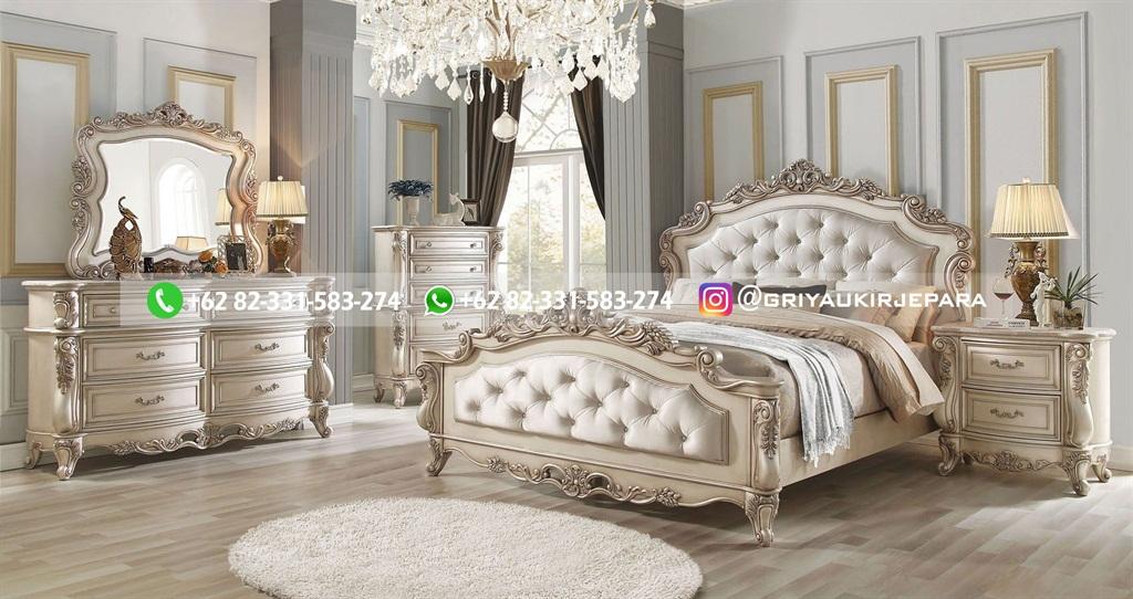 Tempat Tidur Jati Mewah Minimalis Klasik dan Ukiran Jepara 30 - 10+ Model Tempat Tidur Jati Mewah