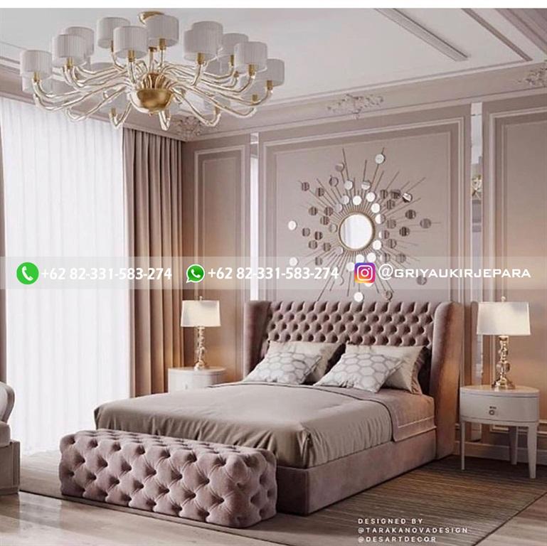 Tempat Tidur Jati Mewah Minimalis Klasik dan Ukiran Jepara 31 - 10+ Model Tempat Tidur Jati Mewah