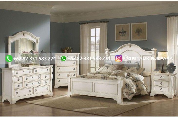 Tempat Tidur Jati Mewah Minimalis Klasik dan Ukiran Jepara 32 - 10+ Model Tempat Tidur Jati Mewah