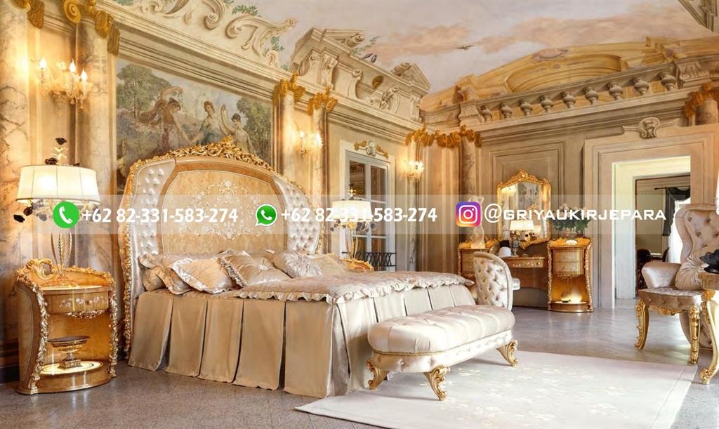 Tempat Tidur Jati Mewah Minimalis Klasik dan Ukiran Jepara 36 - 10+ Model Tempat Tidur Jati Mewah