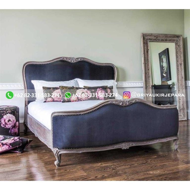 Tempat Tidur Jati Mewah Minimalis Klasik dan Ukiran Jepara 37 - 10+ Model Tempat Tidur Jati Mewah