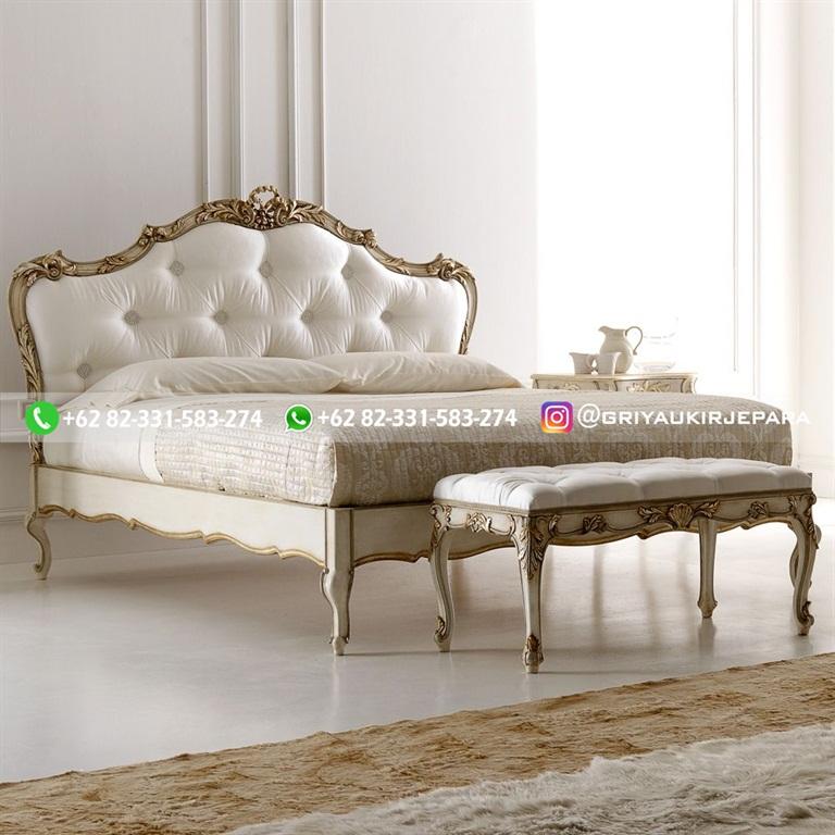 Tempat Tidur Jati Mewah Minimalis Klasik dan Ukiran Jepara 39 - 10+ Model Tempat Tidur Jati Mewah