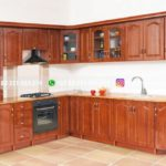 kitchen set jati minimalis mewah klasik