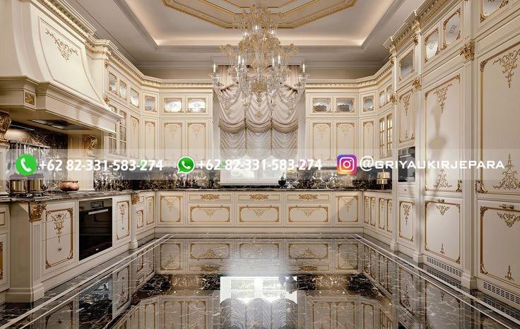 kitchen set jati minimalis mewah klasik ukiran 60 - 10+ Kitchen Set Jati Minimalis Mewah Klasik Jepara