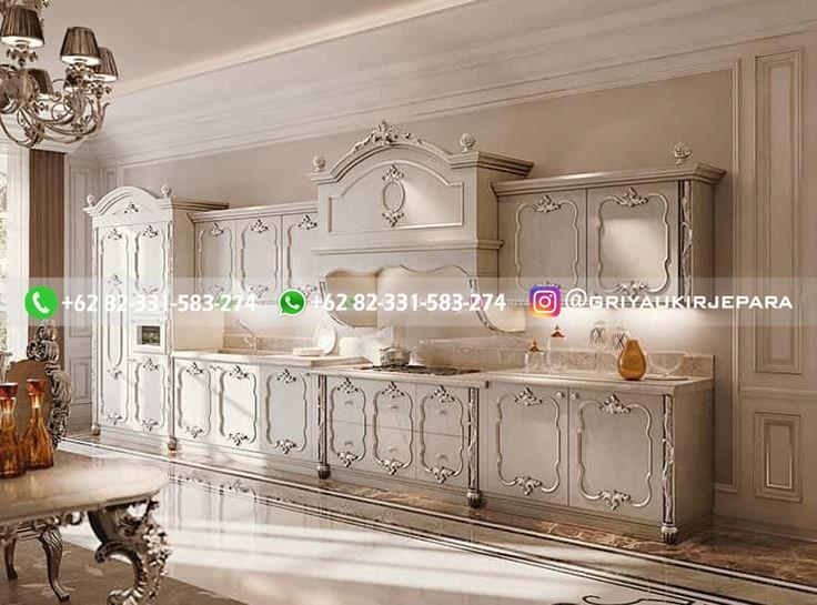 kitchen set jati minimalis mewah klasik ukiran 63 - 10+ Kitchen Set Jati Minimalis Mewah Klasik Jepara