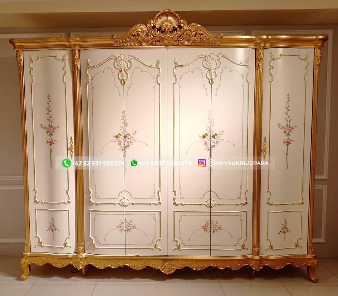 lemari pakaian jati 1 - 50+ Model Lemari Pakaian Jati Mewah Minimalis dan Klasik