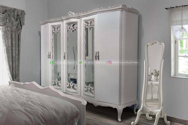 lemari pakaian jati 10 - 50+ Model Lemari Pakaian Jati Mewah Minimalis dan Klasik