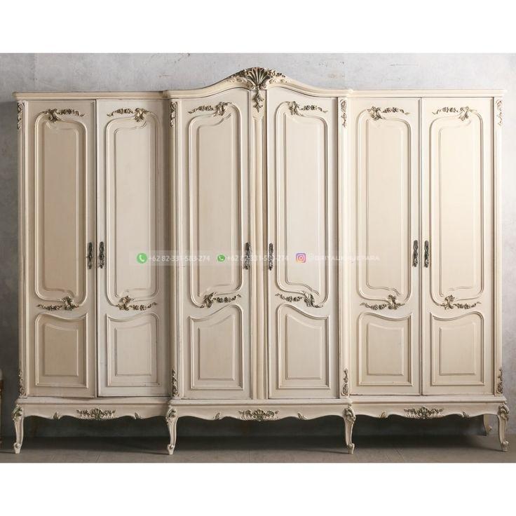 lemari pakaian jati 12 - 50+ Model Lemari Pakaian Jati Mewah Minimalis dan Klasik