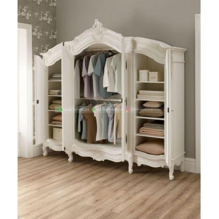 lemari pakaian jati 13 - 50+ Model Lemari Pakaian Jati Mewah Minimalis dan Klasik