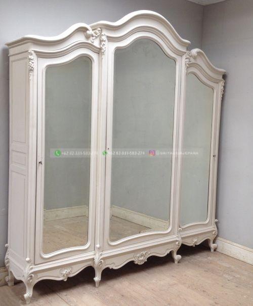 lemari pakaian jati 3 - 50+ Model Lemari Pakaian Jati Mewah Minimalis dan Klasik