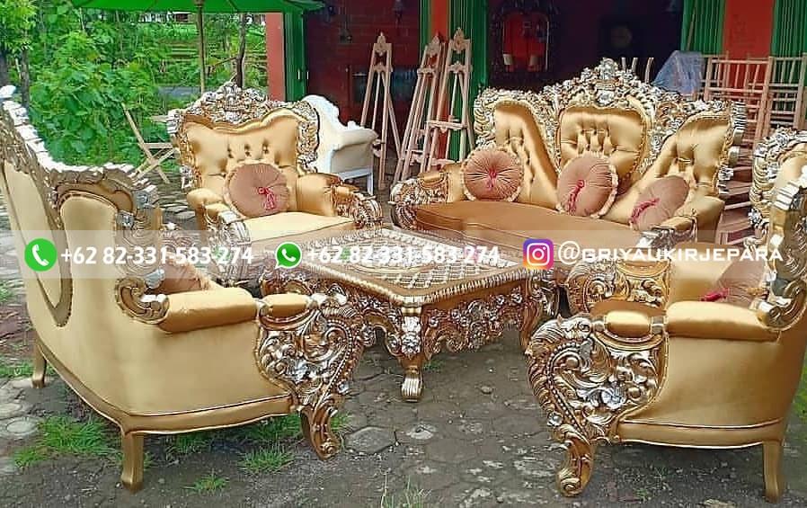 sofa ruang tamu jati 1 - 100+ Model Sofa Ruang Tamu Jati Mewah