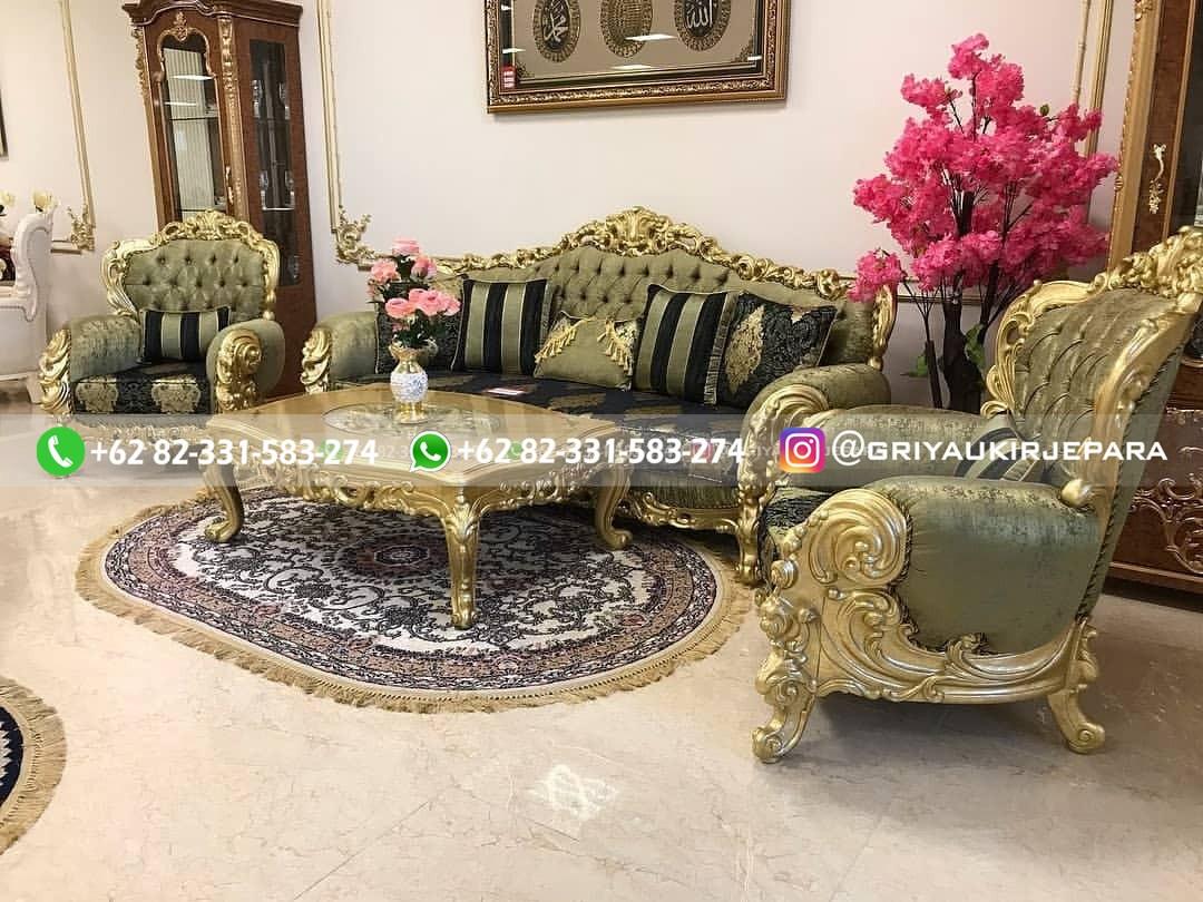 sofa ruang tamu jati 3 - 100+ Model Sofa Ruang Tamu Jati Mewah