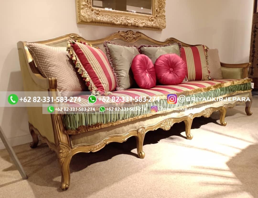 sofa ruang tamu jati 4 - 100+ Model Sofa Ruang Tamu Jati Mewah