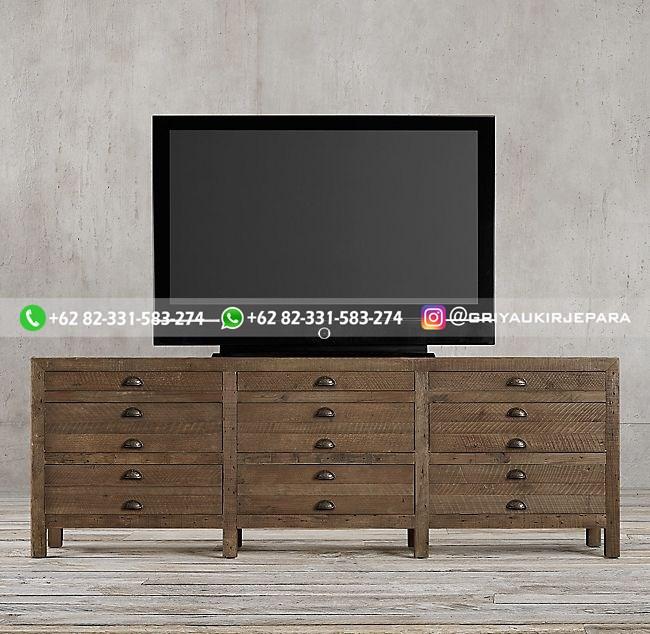 bufet cradenza tv jati32 - Bufet & Cradenza Jati