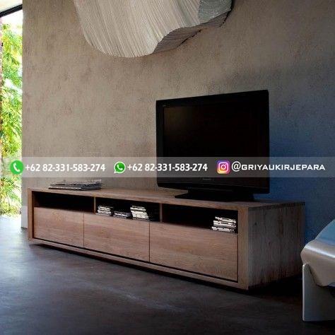 bufet cradenza tv jati6 - Bufet & Cradenza Jati