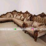 15 Model Sofa Sudut Jati Harga Murah