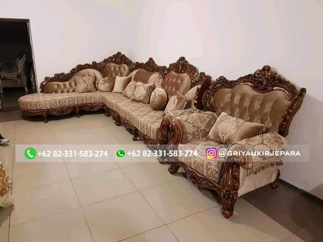 sofa ruang tamu sudut jati 3 - 15 Model Sofa Sudut Jati Harga Murah