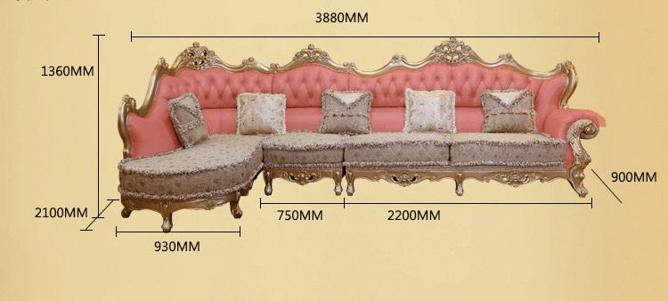 ukuran sofa sudut - 15 Model Sofa Sudut Jati Harga Murah