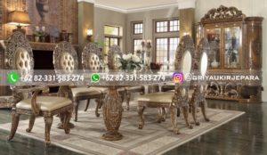 meja makan jati mewah griya ukir jepara 2 300x174 - 5 Meja Makan Jati Mewah Klasik