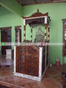 mimbar masjid129 225x300 - Mimbar Masjid Jati Murah