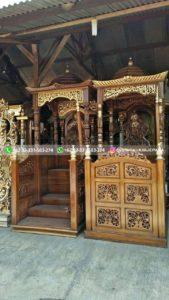 mimbar masjid131 169x300 - Mimbar Masjid Jati Murah Jepara