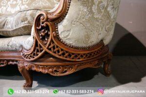 Set sofa ruang tamu jati mewah gaya Italia 1 300x200 - Sofa Jati Mewah Tiga Dudukan