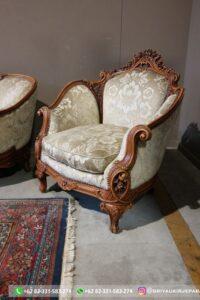 Set sofa ruang tamu jati mewah gaya Italia 2 200x300 - Sofa Jati Mewah Tiga Dudukan