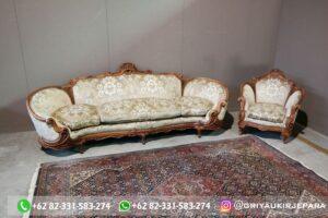 Set sofa ruang tamu jati mewah gaya Italia 3 1 300x200 - Sofa Jati Mewah Tiga Dudukan
