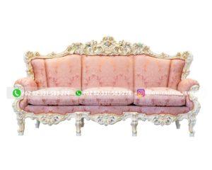 Sofa Jati Mewah Tiga Dudukan