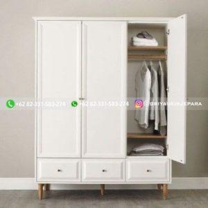 lemari pakaian jati modern 1 300x300 - 20+ Model Lemari Pakaian Jati Terbaru 2020
